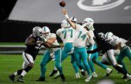 Delirio a Las Vegas (Miami Dolphins vs Las Vegas Raiders 26-25)
