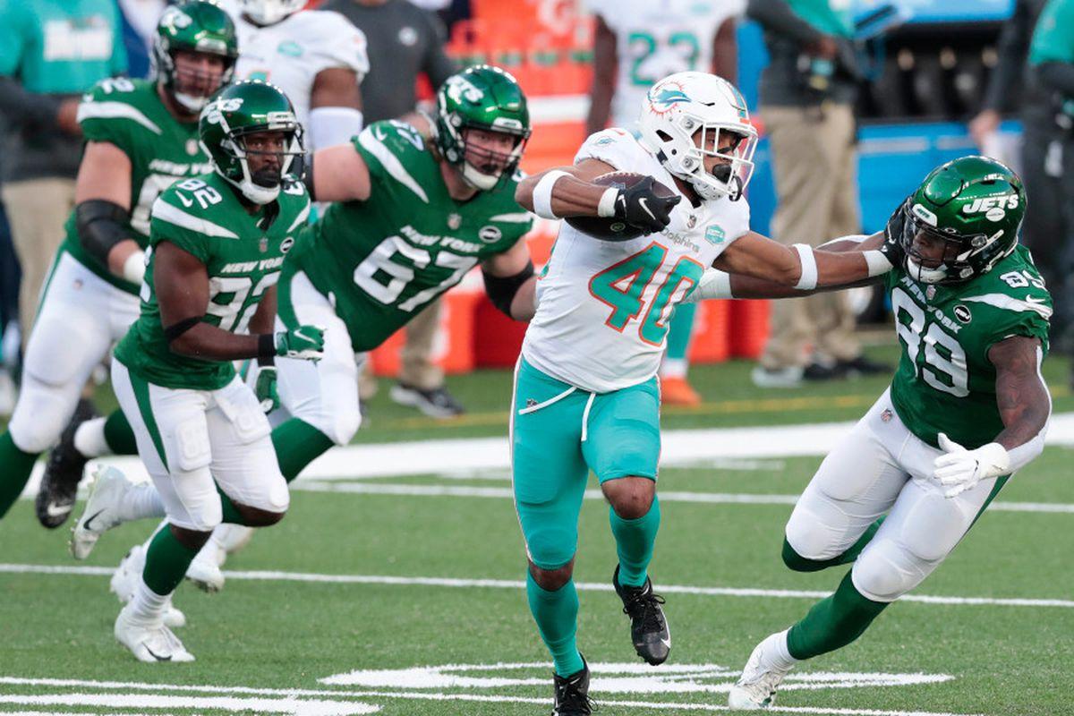 Agli antipodi (Miami Dolphins vs New York Jets 20-3)
