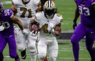 Kamara da record (Minnesota Vikings vs New Orleans Saints 33-52)