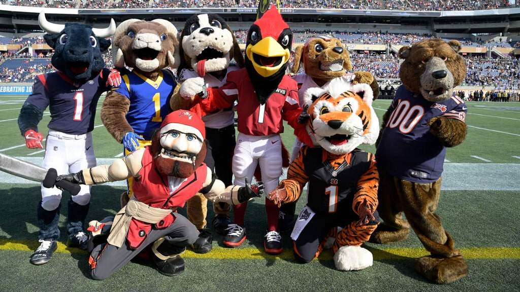 Una vita da mascotte NFL
