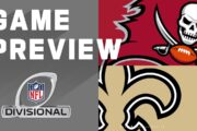 Divisional 2020 Preview: Tampa Bay Buccaneers vs New Orleans Saints