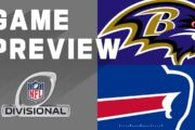 Divisional 2020 Preview: Buffalo Bills vs Baltimore Ravens