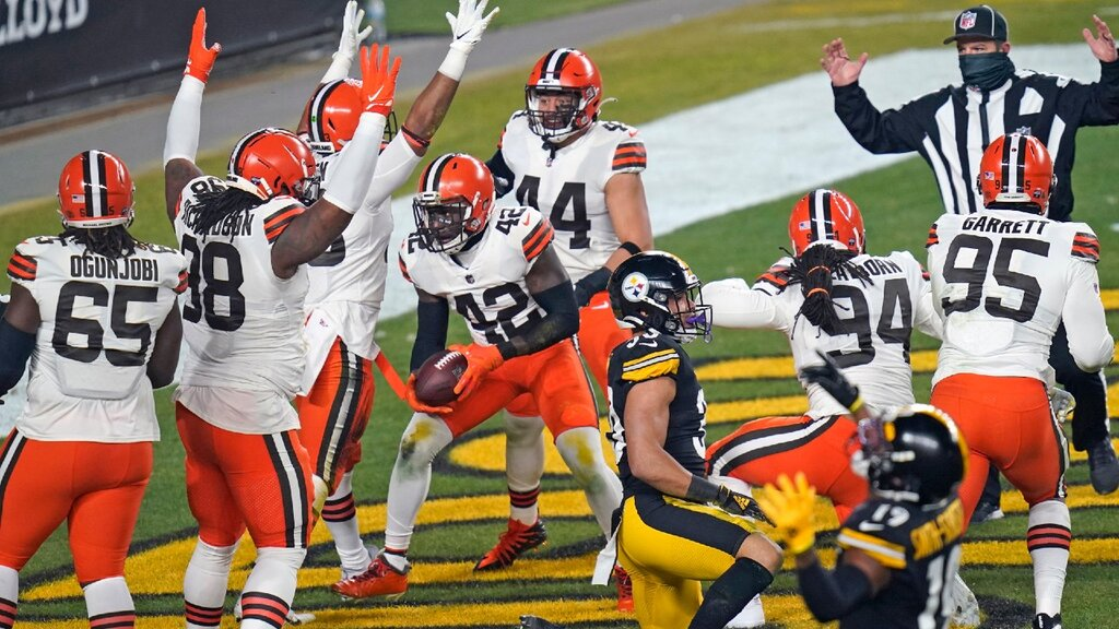 Wild Card 2020: Cleveland Browns vs Pittsburgh Steelers 48-37