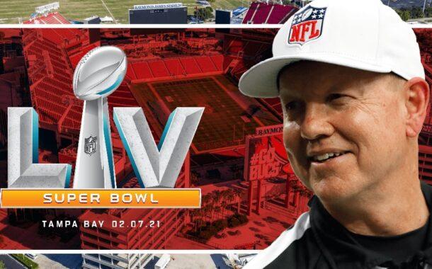 La crew arbitrale del Super Bowl LV