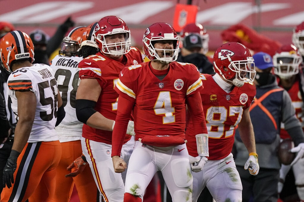 Divisional 2020: Cleveland Browns vs Kansas City Chiefs 17-22