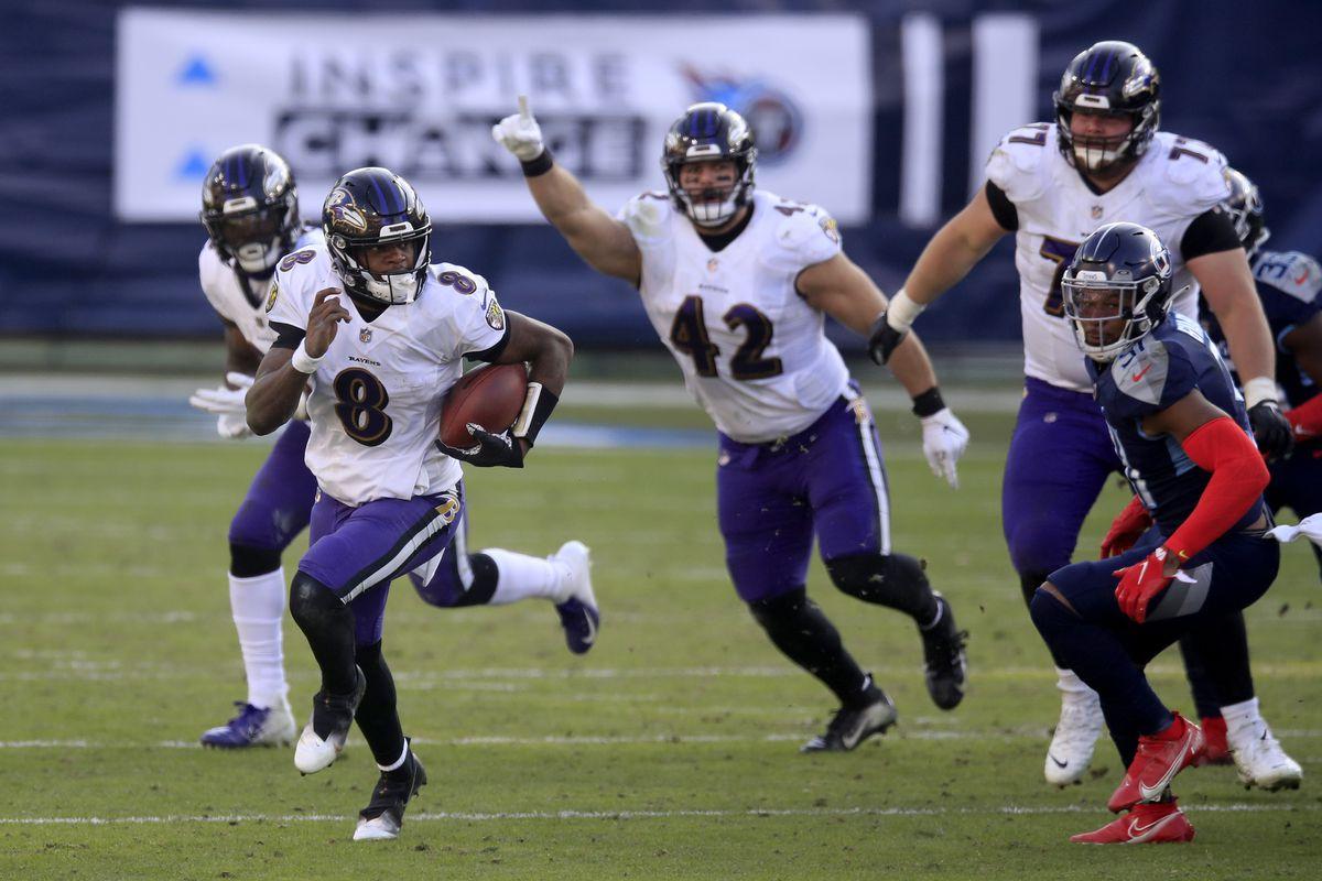 Wild Card 2020: Baltimore Ravens vs Tennessee Titans 20-13
