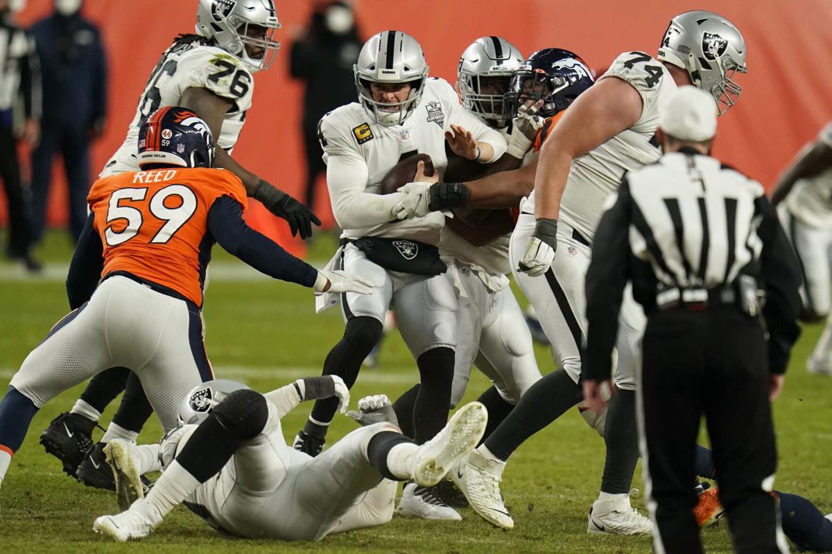La mano de diòs (Las Vegas Raiders vs Denver Broncos 32-31)
