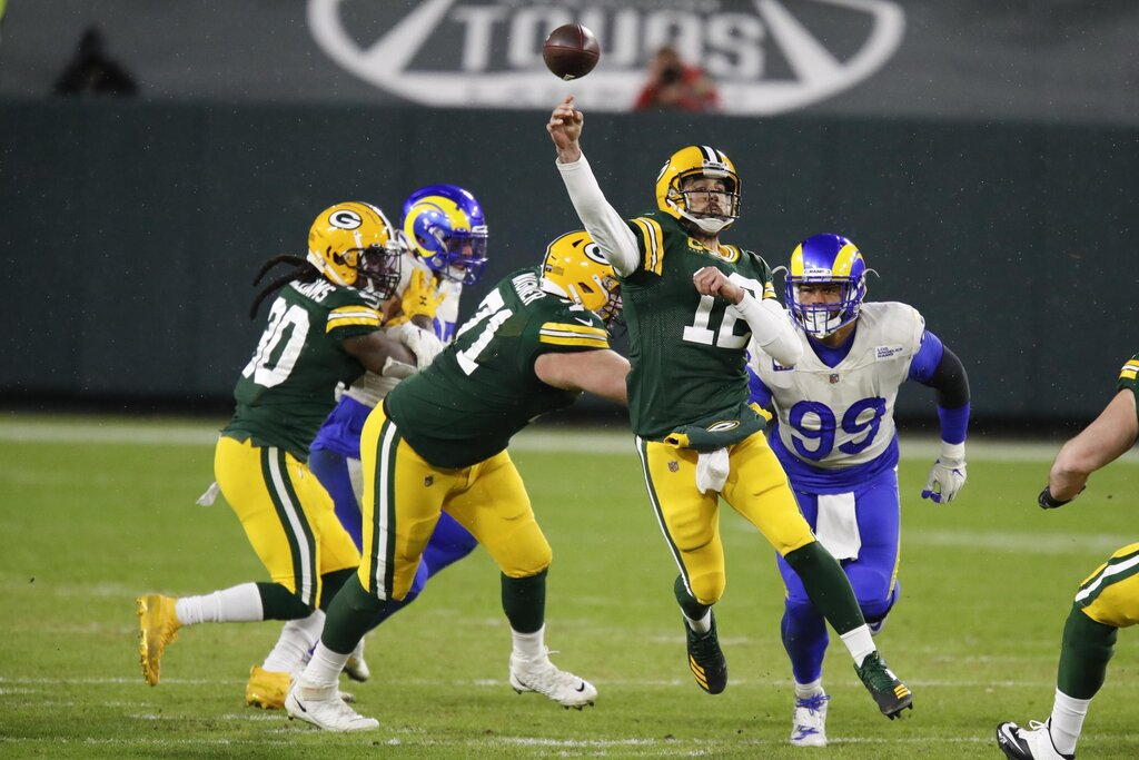 Divisional 2020: Los Angeles Rams vs Green Bay Packers 18-32