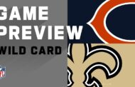 Wild Card 2020 Preview: Chicago Bears vs New Orleans Saints