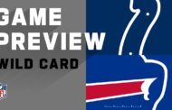 Wild Card 2020 Preview: Buffalo Bills vs Indianapolis Colts