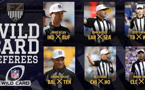Wild Card 2020: le crew arbitrali