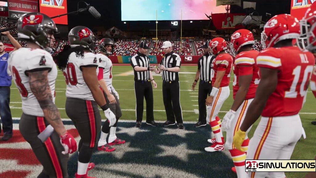 Huddle Simulations – Super Bowl LV