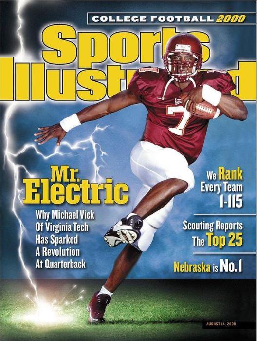 Michael Vick sulla cover di Sports Illustrated