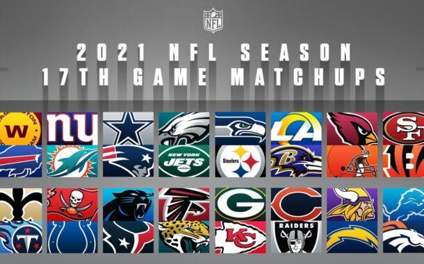 17 partite di regular season nella NFL 2021