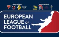 Il calendario della European League of Football (ELF)