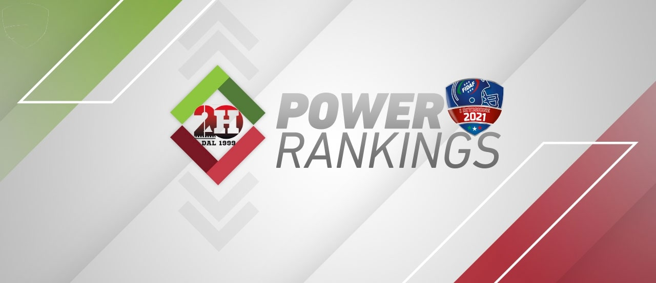 Power Ranking Prima Divisione FIDAF - Week 3