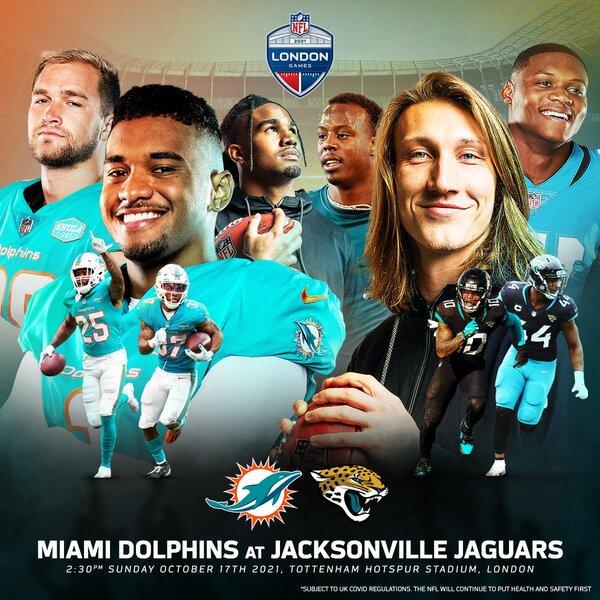 jaguars dolpgins londra