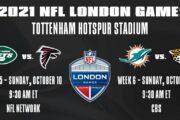 La NFL torna a giocare a Londra