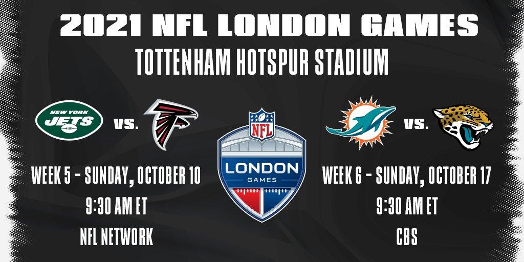 Annunciata la vendita dei biglietti per la NFL a Londra