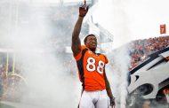 Demaryius Thomas saluta la NFL