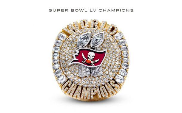 L'incredibile anello del Super Bowl dei Buccaneers