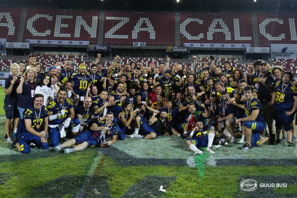 I Vipers Modena vincono il XXVII Silver Bowl