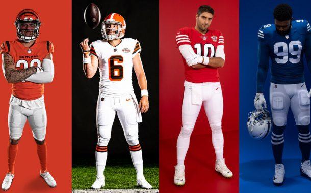 Le nuove divise NFL del 2021