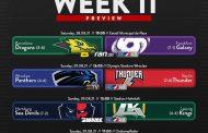 European League of Football (ELF): Preview week 11