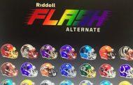 I nuovi caschi Flash della Riddell