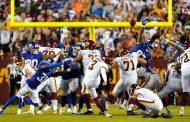 Finale thrilling (New York Giants vs Washington Football Team 29-30)