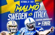 La finale europea tra Svezia e Italia si giocherà a Malmö