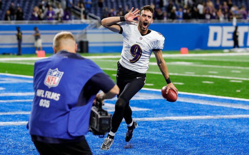 66 yard di record NFL (Baltimore Ravens vs Detroit Lions 19-17)