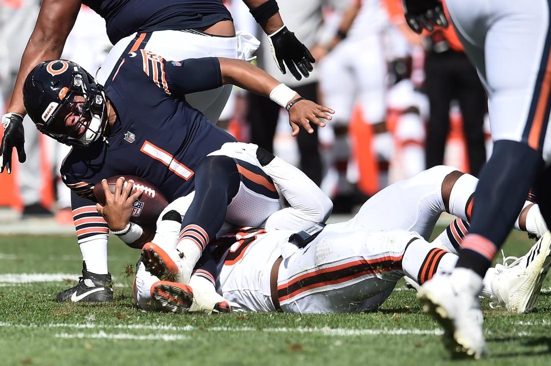 Myles Garrett distrugge i Bears (Chicago Bears vs Cleveland Browns 6-26)