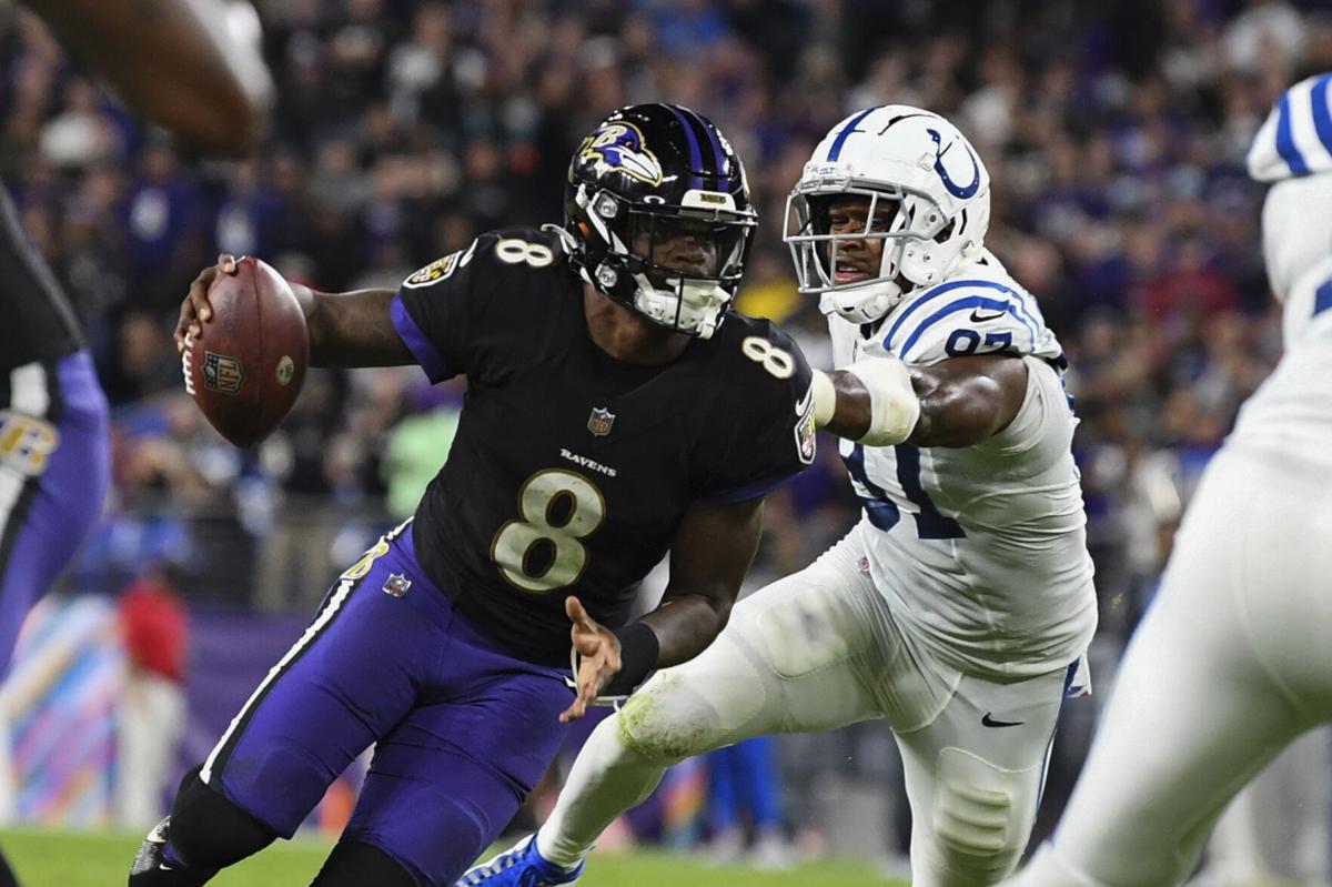 Il talento di Jackson (Indianapolis Colts vs Baltimore Ravens 25-31)