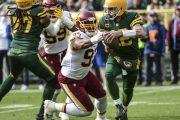 Sesta di fila (Washington Football Team vs Green Bay Packers 10-24)