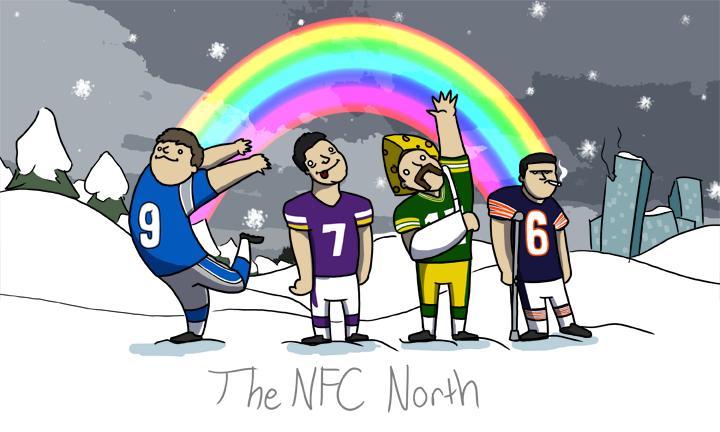 [NFL] Buon Natale dalle otto division