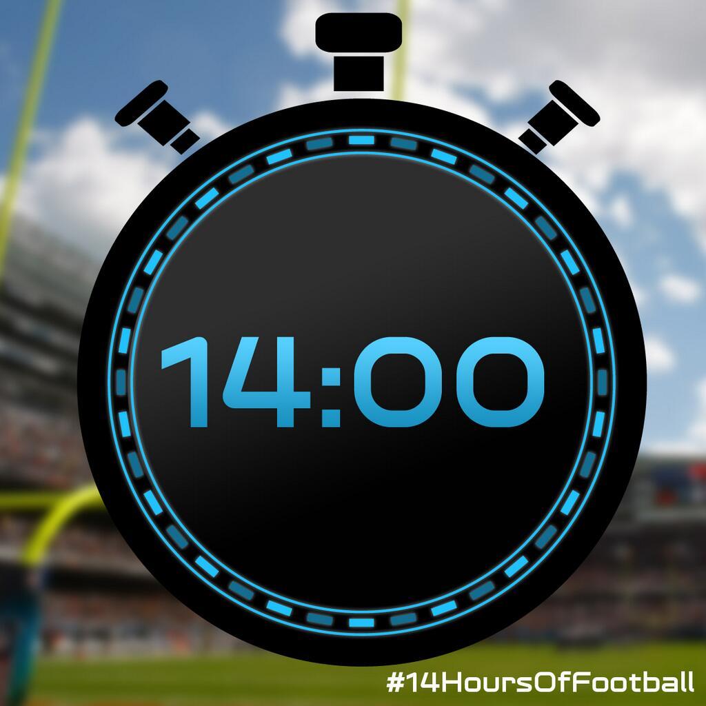 [NFL] 14 ore di football