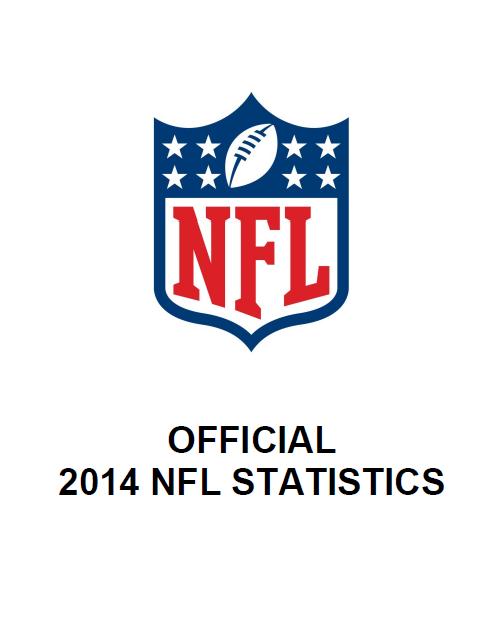 NFL Official Statistics 2014